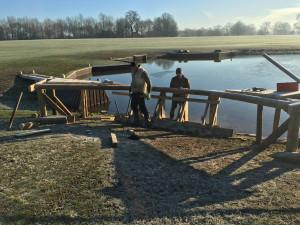 The Lake in January sunshine