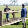 Eric explains his approach with some of the new fences on course