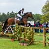 'Horseware Hale Bob OLD' whizzing over the 'World Horse Welfare Gates'