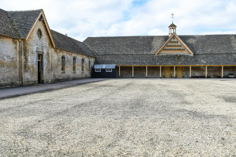 All is quiet for the moment in the stables