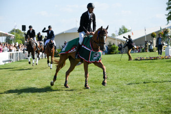 'Nereo' leading the way at Badminton