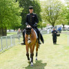 Thibaut Vallette looking cool on his walk to the warm-up arena