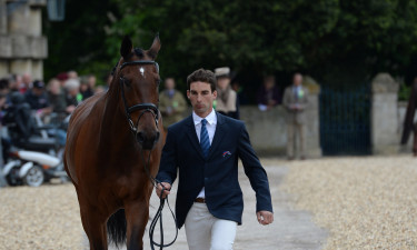 Astier Nicolas and 'Piaf de B'Neville' looking smart