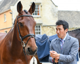 Yoshiaki Oiwa ready to go with 'The Duke of Cavan'