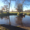 A quiet winter's day at Badminton Estate
