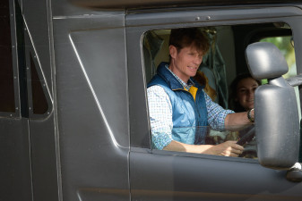 William Fox-Pitt in the driving seat
