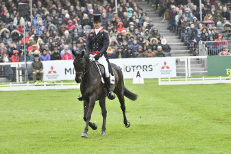 Oratorio tackling the worst of the weather with William Fox-Pitt