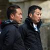 Toshiyuki Tanaka waiting to present for the ground jury