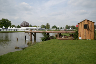 Fence 24, the World Horse Welfare Lakeside is a new addition to the course this year
