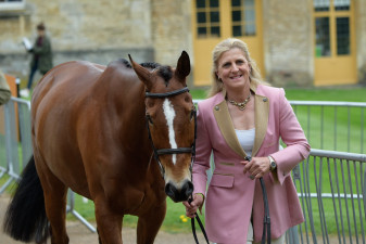 Tina Cook is all smiles as she brings forward Star Witness