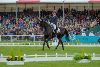 Oliver Townend and Cillnabradden Evo on their way to a record-breaking test