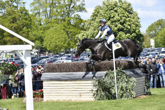 Nicola Wilson on her way to a clear round with Bulana