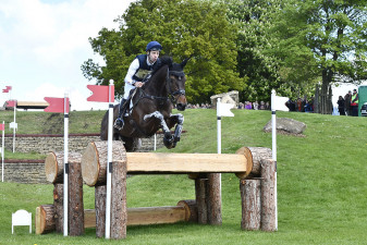 Christopher Burton flying around Eric Winter's course with Graf Liberty