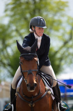 Imogen Murray and Ivar Gooden go double clear to make the greatest improvement on their dressage score