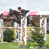 Christopher Burton (AUS) riding Cooley Lands to finish in 3rd place