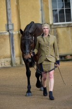 Trotting in tweed
