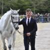 Will Furlong flies through the final horse inspection with Collien P 2