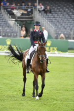 Piggy French and Vanir Kamira lie in 3rd place after the first day of dressage