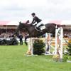 Nicola Wilson (GBR) riding Bulana