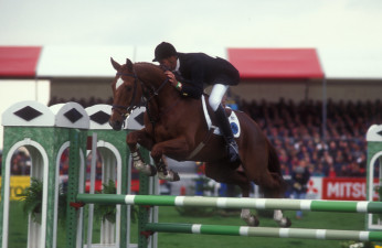 1996 Mark Todd NZL riding Bertie Blunt