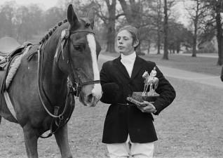 1969 Richard Walker riding Pasha