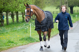 Paul Sims (GBR) with Glengarnock