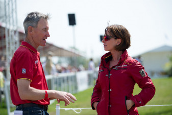 Chris Bartle and Bettina Hoy (GER)