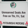 Unreserved seats