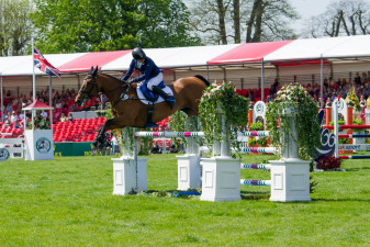 Ben Hobday clears the last