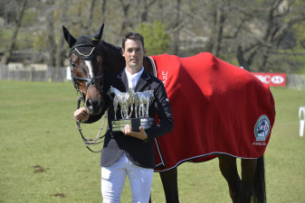 2013 Jonathan Paget & Clifton Promise win when Michael Jung knocks rolls a pole in the showjumping finale