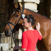 Alice Dunsdon with Fernhill Present