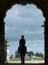 The iconic archway to the stables, but do you recognise which horse this is!?