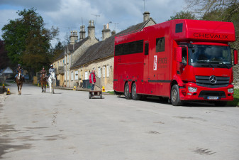 It's business as usual for the Beaufort Hunt staff as International riders arrive