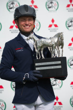 The 2016 Mitsubishi Motors trophy winner, Michael Jung of Germany