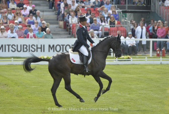 Oliver Townend riding Black Tie GBR