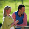 Nicola Wilson with husband Alistair
