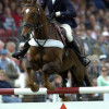 2007 Lucinda Fredericks & Headley Britannia in the showjumping