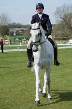 Olivia Wilmot  (GBR) and Cool Dancer head to the arena