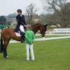 Trainer Annabel Scrimgeour with Astier Nicholas
