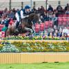 Christopher Burton (AUS) over fence 1 on Nobilis 18