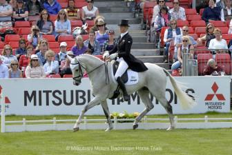 Lucy Jackson riding Bosun NZL