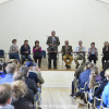 Riders briefing in Badminton Village Hall