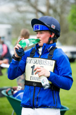 Refreshment for Dani Evans (GBR)
