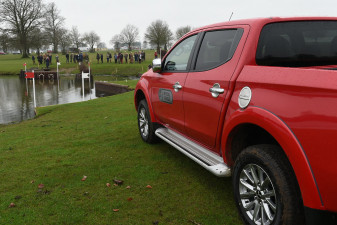 Mitsubishi L200 at the Lake