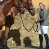 Gemma Tattersall with her two boys, Arctic Soul and Pamero 4