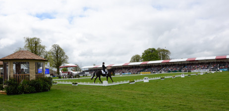 Jonelle Price and Classic Moet round-up the morning session of dressage day two