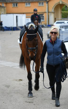 Arctic Soul out with super groom and Gemma's mum, Marcelle Tattersall