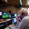 Chris Lewis hard at work