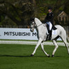 Numero uno - Caroline Powell and Up Up And Away will kick off this year's dressage phase