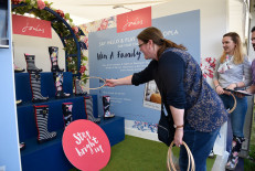 Fun and games over at the Joules stand